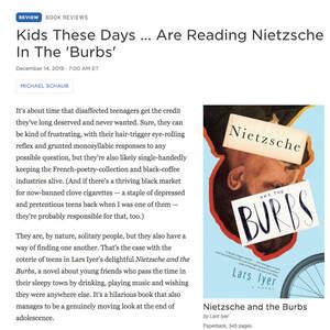 Nietzsche and the Burbs by Lars Iyer