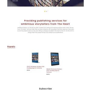 Publisher: Ambitious Stories LLC