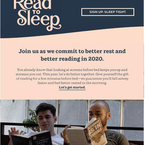 Read To Sleep 2020