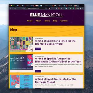 Elle McNicoll Author Website