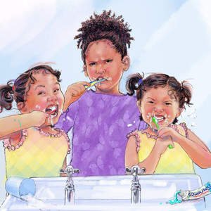 Pamela_and_the_Twins_brushing_teeth_for_Reedsy.jpg