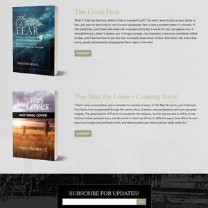 Preston Rentz Author Website