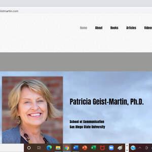 Patricia Geist Martin Ph.D. Website