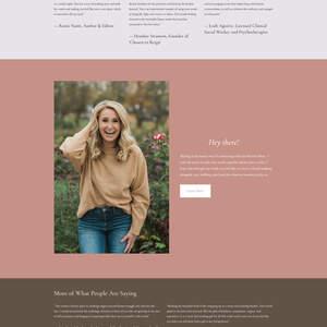 Self-Help Indie Author Tess Hayes Website