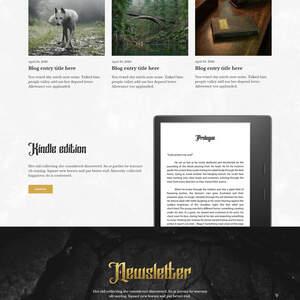 Damon Barret Roe author website
