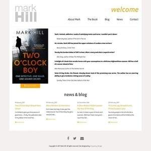 Mark Hill Author Website