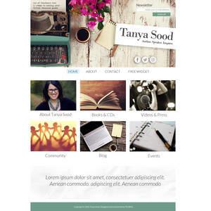 Tanya Sood Author Website