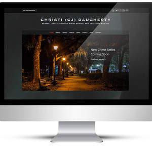 Christi Daughterty Website Design