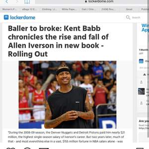 Not a Game: The Incredible Rise and Unthinkable Fall of Allen Iverson (Atria /Simon & Schuster)