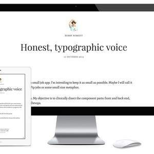 Vienna Writing Wordpress Theme