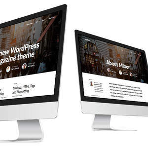 Milton Wordpress Theme