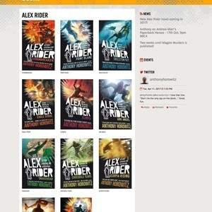 Anthony Horowitz Author Website