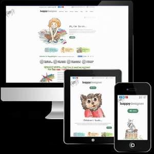 Happy Designer Website