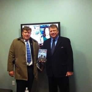 Book tour on behalf of Burgess Owens, NFL Super Bowl Champion