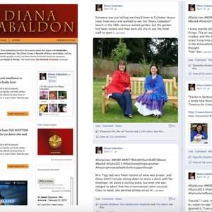 Penguin Random House - Diana Gabaldon microsite + social campaign