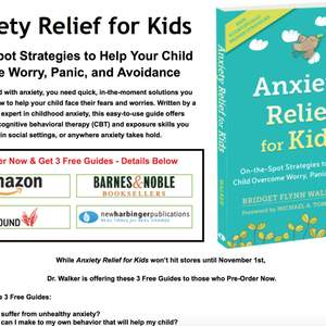 Pre-Launch & Launch Campaign - 'Anxiety Relief for Kids'
