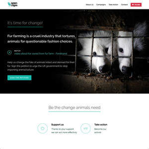 Open Cages (Design + Development)