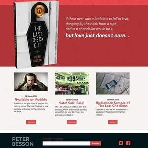 Peter Besson Author Website