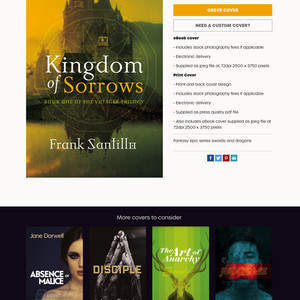 cover.works - cover design for authors and publishers