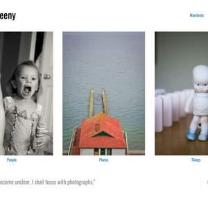 Nora Sweeny portfolio website