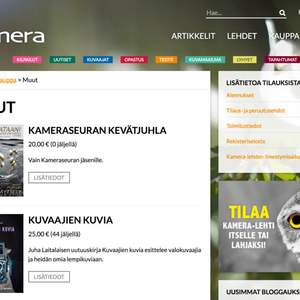 Kameralehti Website