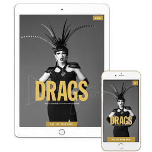 DRAGS Book Promotion Website