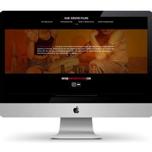Subversive Films Website Design and Development