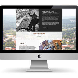 New York Sights Unscene Book promotion Website Design and Development