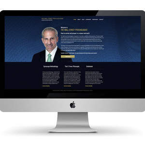 The Wall Street Psychologist Author Website Design and Development