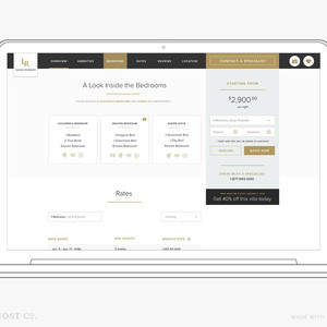 Luxury Retreats W3: A Luxury Travel Website Redesign