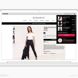 Dynamite eCommerce Checkout: User Experience Design for a Fashion Website