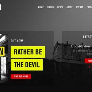Ian Rankin - Author website and digital marketing strategy