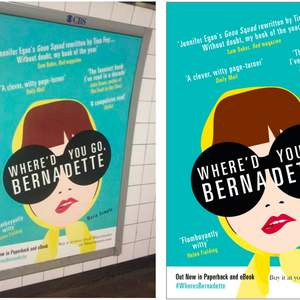 Marketing Campaign for Where'd You Go Bernadette by Maria Semple