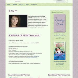 Author Vivienne Lorret