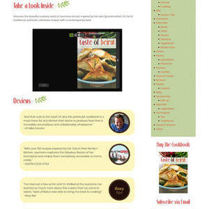 Taste of Beirut  (Cookbook author Joumana Accad)