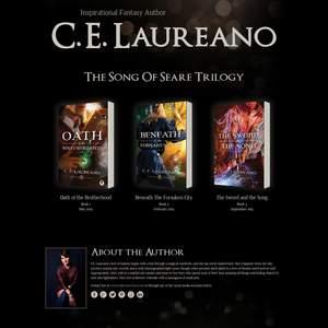Author Carla Laureano (C.E. Laureano)