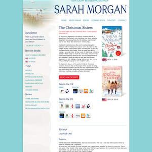 Author Sarah Morgan