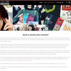 Jessica Bell Design website