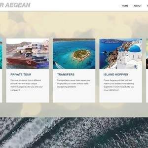 Power Aegean website