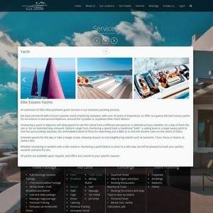 Elite Estates website