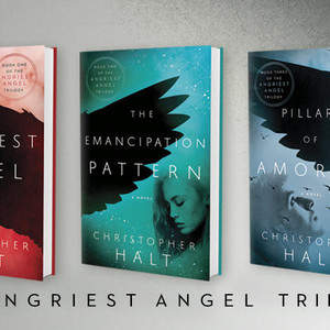 The Angriest Angel trilogy by Christopher Halt