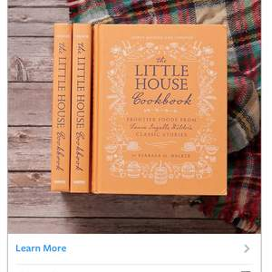 Holiday Advertising for the Little House Cookbook