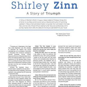 Memoir example - Shirley Zinn: A Story of Triump
