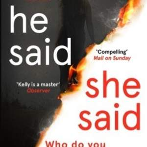 In-house marketing campaign: He Said/She Said, Erin Kelly