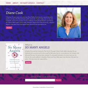 Diane Cook Website