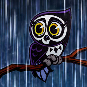 337-Adorable-Cute-Cartoon-Owl-in-the-rain-with-Grim-Reaper-Skull-Feather-Pattern-Drawing-Illustration-pht09prppd.jpg