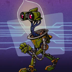 307-Cute-Timid-Vintage-Robot-Droid-Character-with-Glass-Edison-Bulb-for-Head-Cartoon-Pencil-Colored-Markers-Drawing-Sketch-CRPPD.jpg