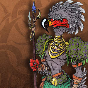 312-Primitive-Tribal-Bird-Warrior-with-Spear-Character-Creature-Concept-Cartoon-Pen-and-Color-Markers-Drawing-Illustration-pht03CrppdMasked.jpg