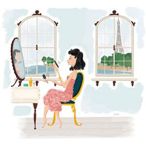 illustration-of-a-woman-looking-in-the-mirror-in-a-paris-apartment-by-felix-diaz.jpg