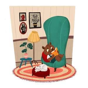 livingroom-bear-reading-book-cat.jpg
